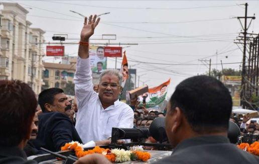 दंतेवाड़ा उपचुनाव: कांग्रेस ने झोंकी ताकत, CM भूपेश का रोड शो आज