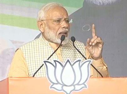 मोदी ने कहा- भाजपा सरकार ने नक्सलवाद की कमर तोड़ दी, डर की जगह विकास का माहौल बना