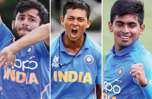 आईसीसी की अंडर-19 वर्ल्ड कप टीम में 3 भारतीय; यशस्वी, बिश्नोई और कार्तिक त्यागी शामिल
