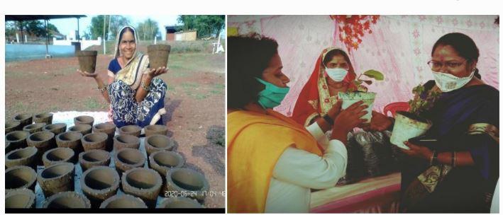 गोबर ने किया कमाल: समूह की महिलाएं हुई मालामाल