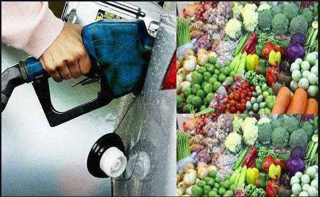 सब्जियां, तेल और शक्कर में आई तेजी  11 दिन में डीजल 10.57 रुपए महंगा,