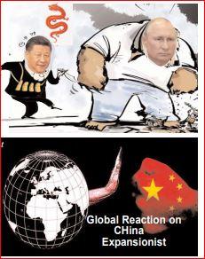 Editorial :- घबराया चीन: विश्व युद्ध का डर बता मिला पुतिन से, पीठ मेें घोंपा छुरा