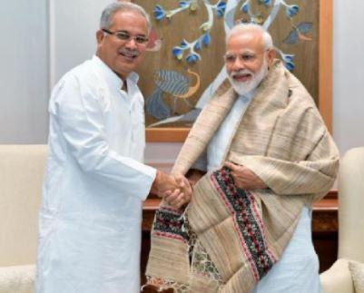 मुख्यमंत्री श्री बघेल ने प्रधानमंत्री को जन्मदिन की बधाई दी