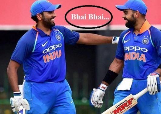 भारतीय कप्तान विराट कोहली के 722 और रोहित शर्मा के 719 रेटिंग पॉइंट्स हैं