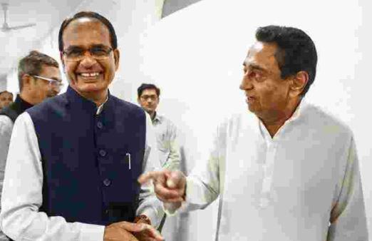 मध्य प्रदेश में मुख्यमंत्री शिवराज सिंह चौहान और कमलनाथ के बीच ट्विटर वॉर छिड़ गया