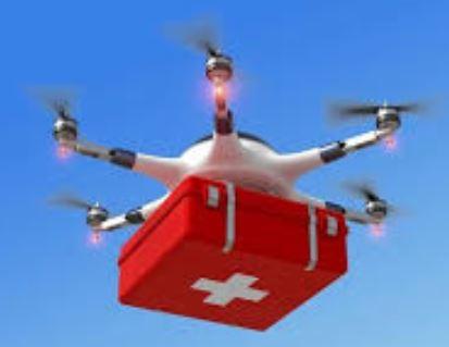 देश में पहली बार ड्रोन 10 से 20 किमी. की दूरी तक उड़ान भरेंगे।