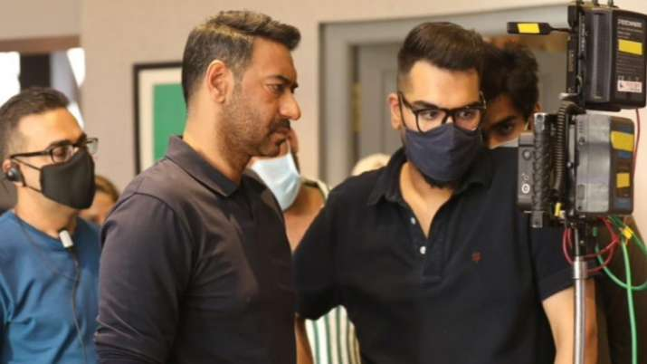 Ajay Devgn has 'almost wrapped' the first schedule of MayDay