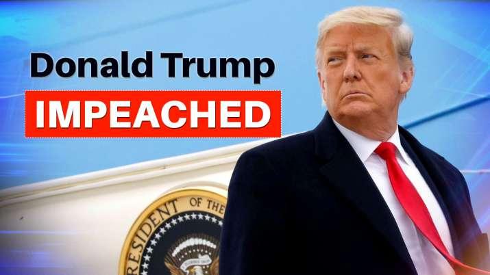 Donald Trump impeached