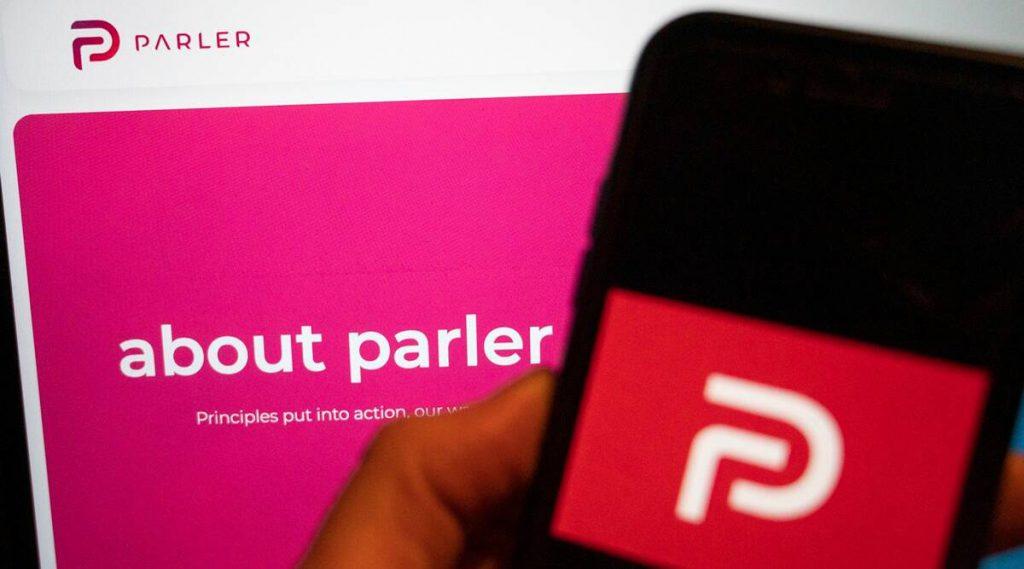 पारलर के सीईओ का कहना है कि सोशल मीडिया ऐप, ट्रम्प समर्थकों के पक्ष में है, वापस नहीं आ सकता है