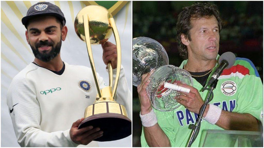 मोदी-विरोधी भारतीयों ने आईसीसी ट्विटर पोल में इमरान खान को वोट दिया ताकि विराट कोहली हार जाएं