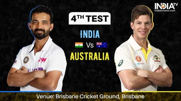 Ind vs Aus LIVE, India vs Australia 4th Test, Day 1 Live