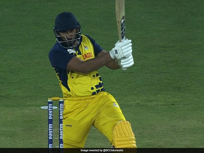 Syed Mushtaq Ali Trophy: Tamil Nadu Defeat Himachal Pradesh To Seal Semi-Final Berth